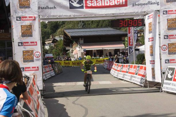 Kurztrip Hinterglemm (Stadt), Salzburger Land, Österreich, An diesem Wochenende findet in Hinterglemm eine Mountainbike-Veranstal