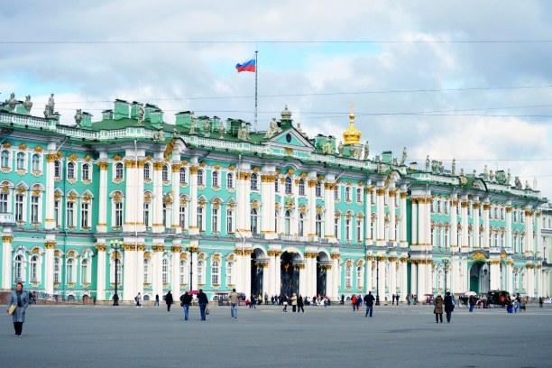"""Sankt Petersburg (Stadt), Sankt Petersburg und Umgebung, Russische Föderation, Ein Spitzname der Stadt ist """"Venedig des Nordens"""", denn hier gibt es s"""
