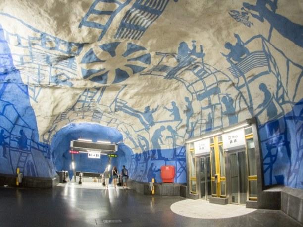 Kurzurlaub Stockholm & Umgebung, Schweden, T-Centralen