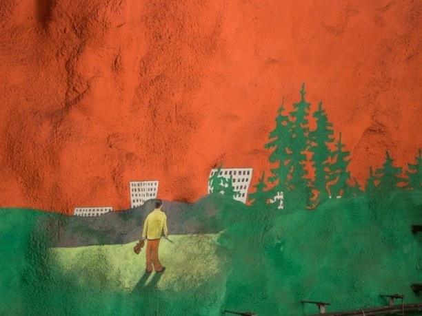 Kurztrip Stockholm & Umgebung, Schweden, In Solna geht's ernst zu: Ausbeutung, Umweltverschmutzung - Themen üb
