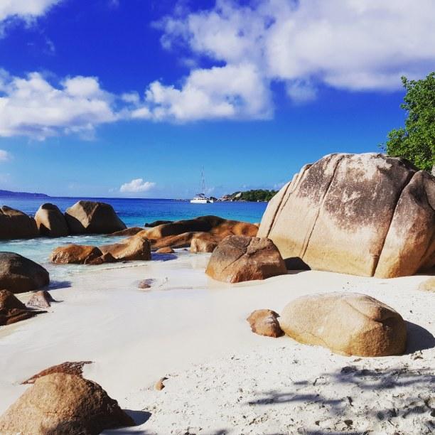 Zwei Wochen Insel La Digue, Seychellen, Praslin
