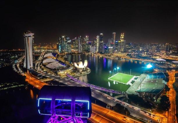 Kurztrip Singapur, Singapur, Marina Bay
