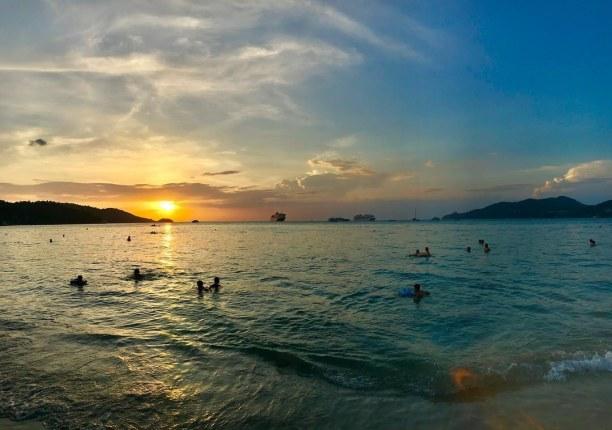 Zwei Wochen Singapur, Singapur, #sunset #Patong #Lastday #Beach #Banglaroad #shopping #Thailand #phuke