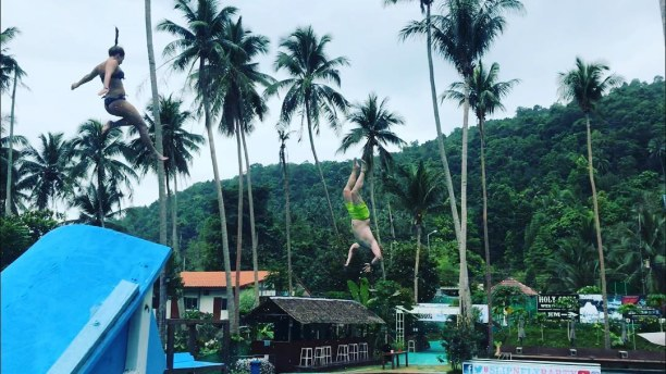 2 Wochen Singapur, Singapur, #slipnfly #diver #bruchlandung #aua #kohphangan #bluterguss #thailand