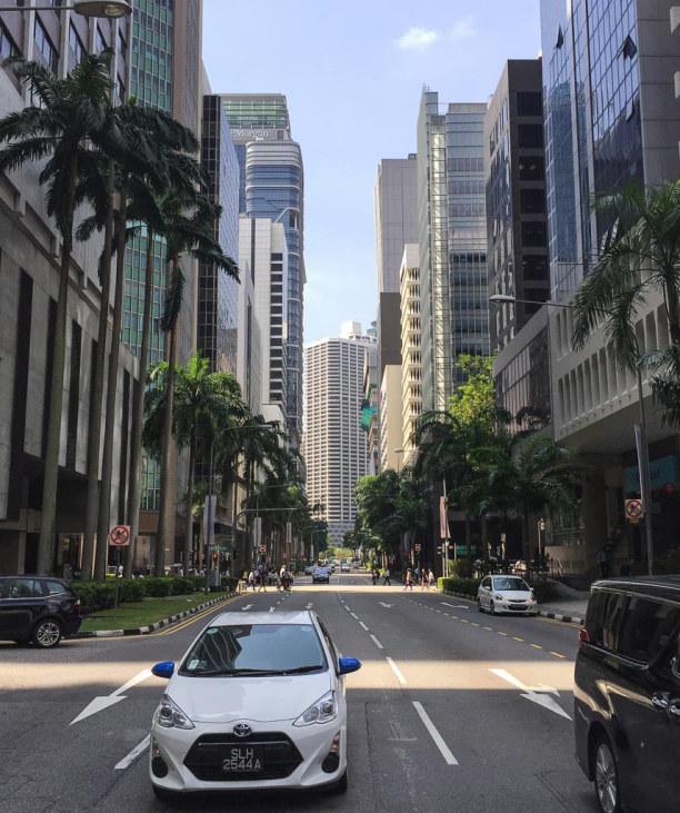 Kurztrip Singapur (Stadt), Singapur, Singapur, Direkt an Chinatown schließt Downtown mit beeindruckenden Wolkenkratz