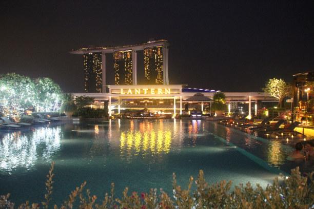 Kurzurlaub Singapur, Singapur, Lantern at The Fullerton Bay Hotek
