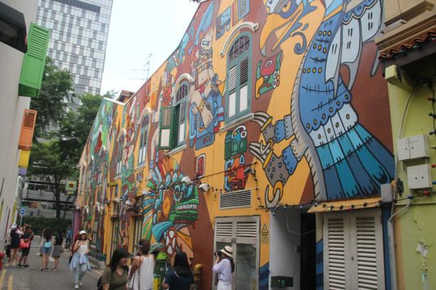 Kurztrip Singapur, Singapur, Haji Lane