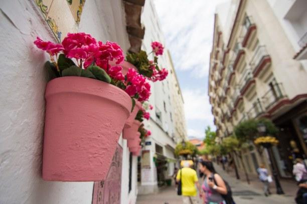 Eine Woche Andalusien, Spanien, Die Altstadt von Marbella ist klein, aber umso schöner. Viele enge G