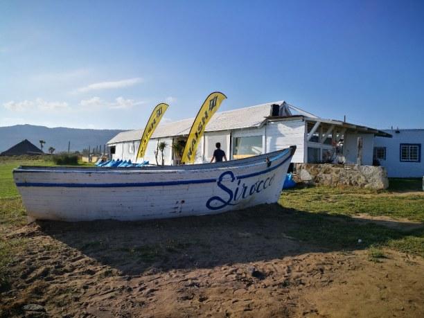 Eine Woche Andalusien, Spanien, Im Chiringuito Siroco am Strand von Bolonia haben wir den Abend auskli