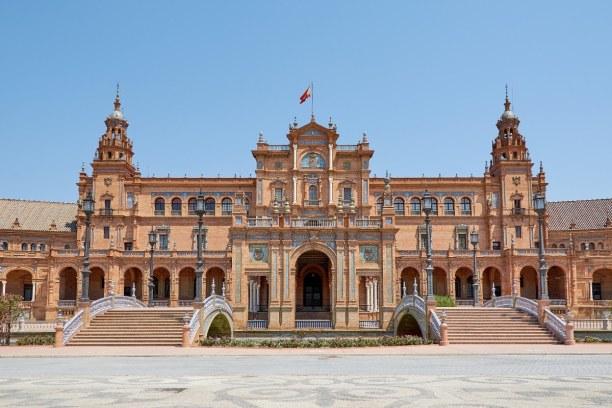 Kurztrip Andalusien, Spanien, Plaza de España, Seville