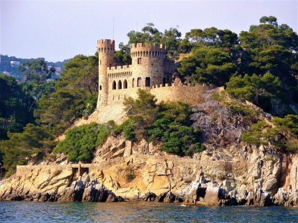 Eine Woche Costa Brava, Spanien, Unterhalb des Castell d´en Plaja liegt der Strand Sa Caleta. In diese