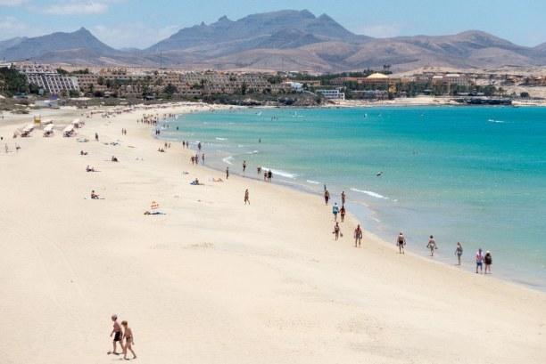 Eine Woche Fuerteventura, Spanien, Fuerteventura hat ein riesiges Angebot an Stränden, aber nicht alle s