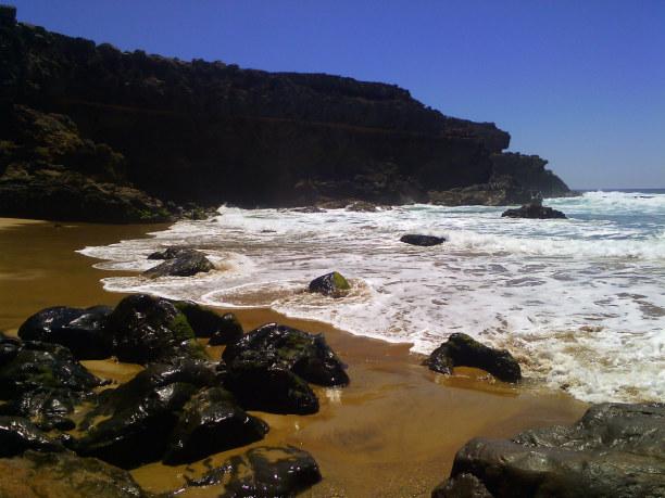 10 Tage Fuerteventura, Spanien, kleine Bucht an der Westküste
