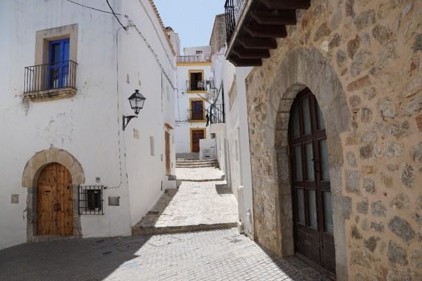 Kurzurlaub Ibiza, Spanien, Die Altstadt von Ibiza