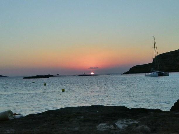 Langzeiturlaub Ibiza, Spanien, Puesta del sol - calla comte, ibiza