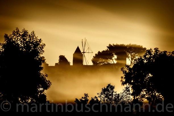 Eine Woche Mallorca, Spanien, Foggy in the morning