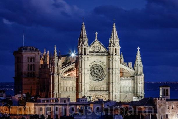 Eine Woche Mallorca, Spanien, Kathedral at Palma - La Seu