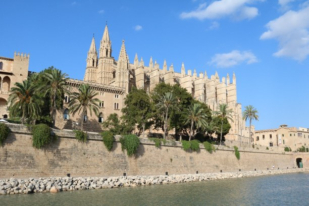 1 Woche Mallorca, Spanien, Die Kathedrale La Seu, auch Kathedrale der heiligen Maria genannt, ist