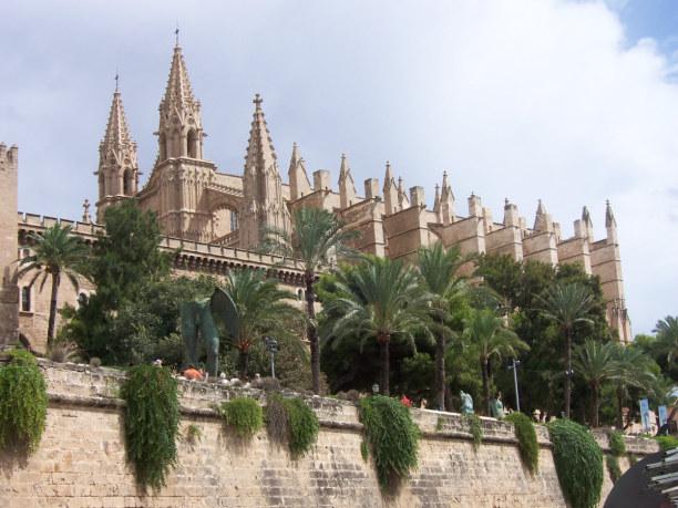 3 Wochen Mallorca, Spanien, Ausflug in die Hauptstadt Palma