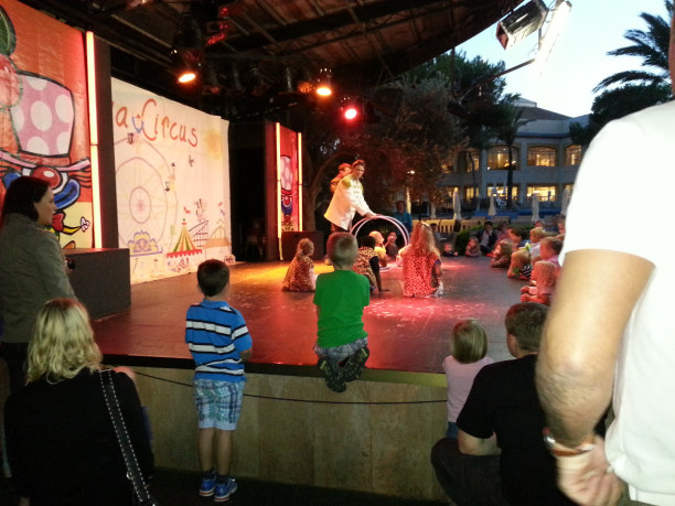 Drei Wochen Mallorca, Spanien, Jeden Abend gab es Kinder-Animation