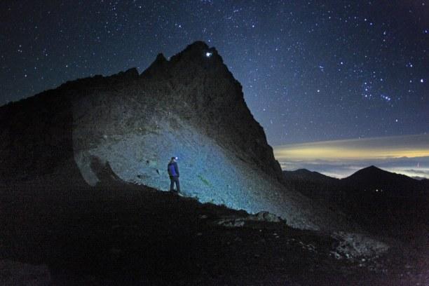 Zwei Wochen Sri Lanka, Sri Lanka, Der Adam´s Peak ist ein heiliger Berg, den Pilger nachts laufen, da e