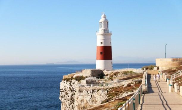 3 Wochen Kapstadt & Umgebung, Südafrika, Der Europa Point Leuchtturm befindet sich am südlichsten Punkt von Gi