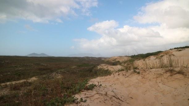 10 Tage Florianópolis (Stadt), Süden, Brasilien, Direkt neben dem Strand von Campeche befindet sich eine atemberaubende