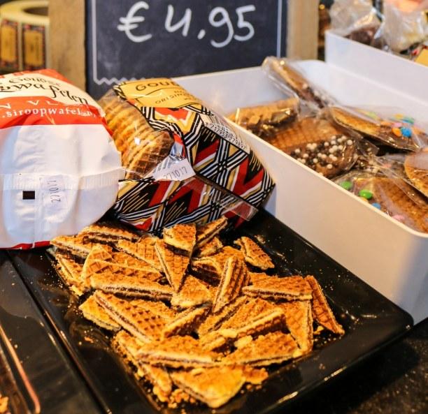 Kurztrip Rotterdam (Stadt), Südholland, Niederlande, Dürft ihr auf keinen Fall verpassen: Stroop-Waffeln naschen, am beste