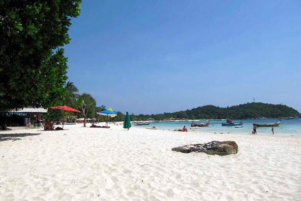 1 Woche Ko Lipe (Stadt), Südthailand, Thailand, Pattaya Beach