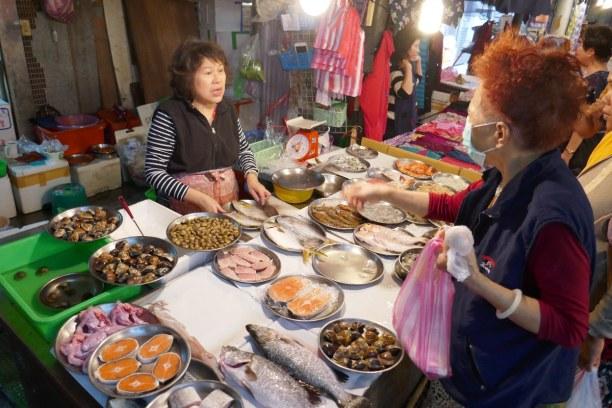 Kurztrip Taipeh (Stadt), Taiwan, Taiwan R.O.C., Frische ist oberstes Gebot auf den Märkten