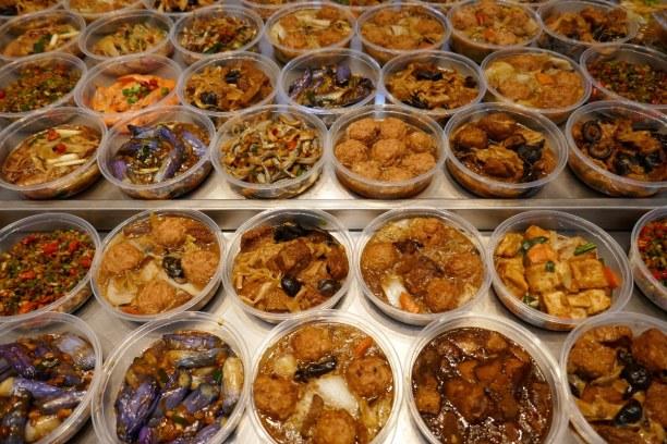 Kurzurlaub Taipeh (Stadt), Taiwan, Taiwan R.O.C., Snacks am Markt