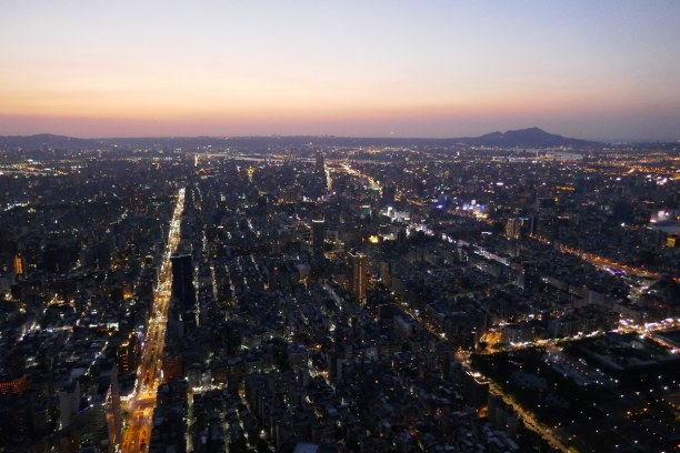 Kurzurlaub Taipeh (Stadt), Taiwan, Taiwan R.O.C., Taipeh bei Nacht