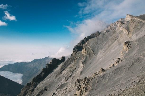 2 Wochen Tansania, Tansania, Der Vulkan Meru ist rund 4500 m hoch und ist vom umgeben vom Arusha-Na