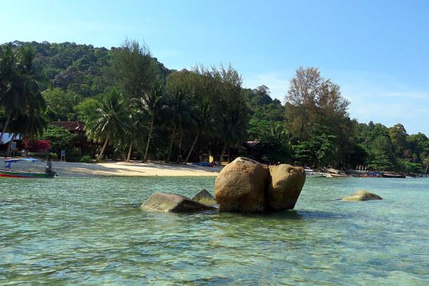 Eine Woche Insel Perhentian Besar (Stadt), Terengganu, Malaysia, Perhentian Besar