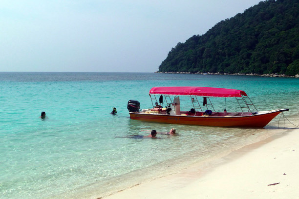 1 Woche Insel Perhentian Besar (Stadt), Terengganu, Malaysia, Schnorcheltour