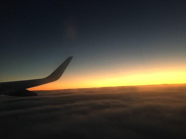 3 Wochen Nordthailand, Thailand, Flug