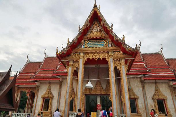 Eine Woche Phuket und Umgebung, Thailand, Wat Chalong