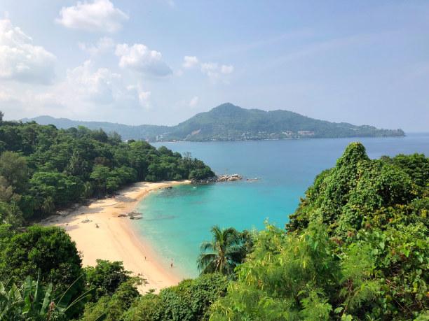 Eine Woche Phuket und Umgebung, Thailand, Laem Singh Beach