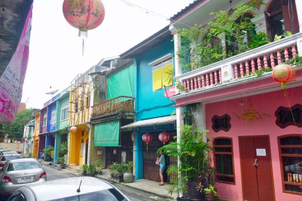 Eine Woche Phuket und Umgebung, Thailand, Phuket Old Town