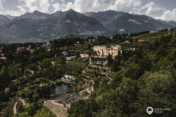 Kurzurlaub Meran (Stadt), Trentino-Südtirol, Italien, Eine der mega Sightseeings sind die botanischen Gärten von Schloss Tr