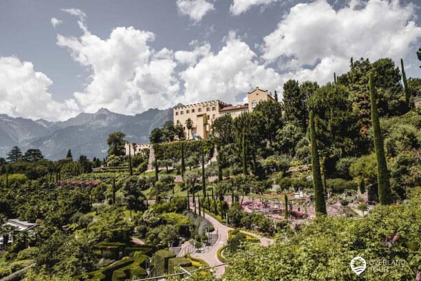 Kurztrip Meran (Stadt), Trentino-Südtirol, Italien, Das Schloss Trauttmansdorff im Botanischen Garten Meran