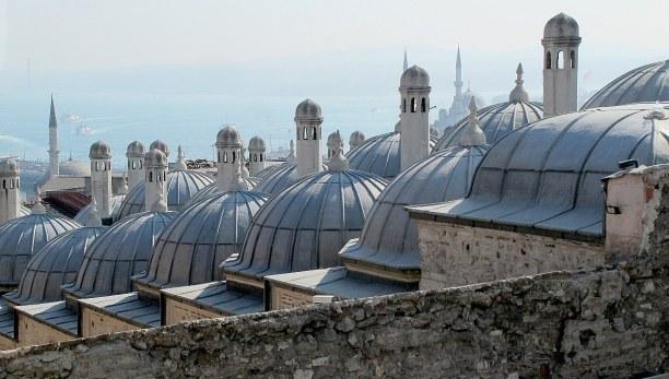 Kurzurlaub Istanbul (Provinz), Türkei, Die Blaue Moschee wurde 1616 im Auftrag des Sultan Ahmed fertiggestell