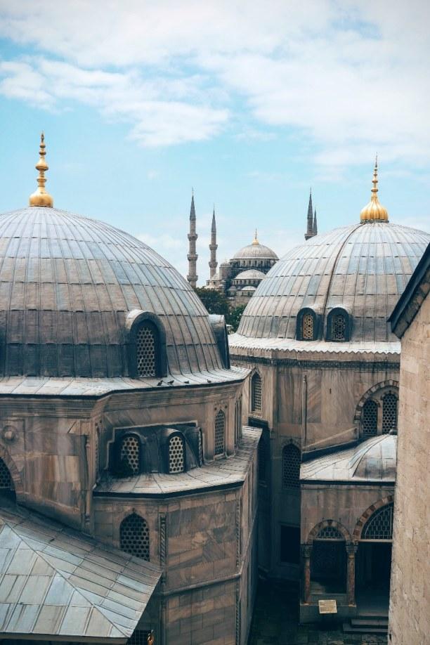 Kurztrip Türkische Ägäis, Türkei, Die Blaue Moschee wurde 1616 im Auftrag des Sultan Ahmed fertiggestell