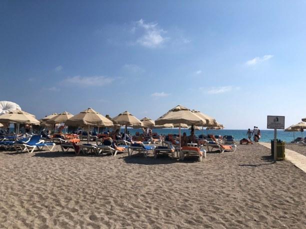 2 Wochen Türkische Riviera, Türkei, Strand