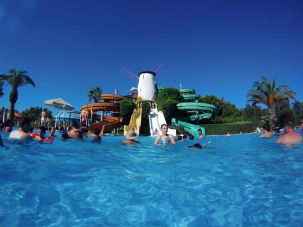 Zwei Wochen Türkische Riviera, Türkei, Aqua Park