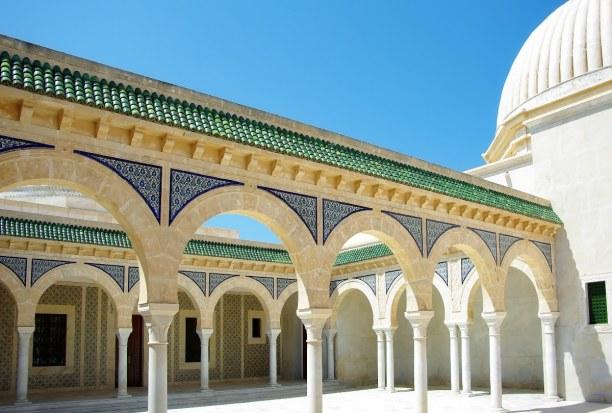 Langzeiturlaub Tunesien, Tunesien, Die Bourgaba Moschee wurde zwischen 1963 und 1965 zu Ehren des damalig