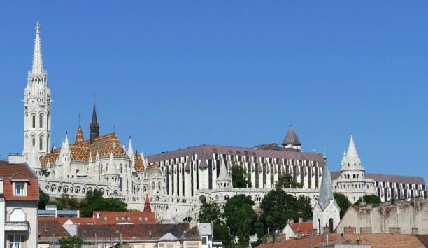 Kurztrip Budapest & Umgebung, Ungarn, Die Matthiaskirche befindet sich im Burgviertel und war die erste Kirc