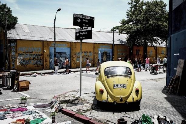 Langzeiturlaub Montevideo (Stadt), Uruguay, Uruguay, Die Feria de Tristán Narvaja ist der traditionelle Flohmarkt in der u