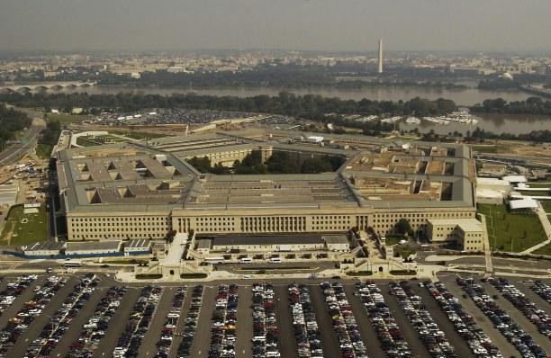 Kurzurlaub District of Columbia, USA, Das Pentagon steht direkt an der Grenze zu Washington D.C.. Es ist der