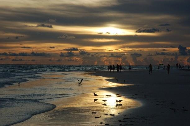 10 Tage Florida, USA, Der Siesta Key gilt als einer der schönsten Strände in den USA. Hier